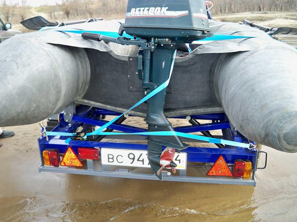 регулировка высоты мотора на лодке пвх