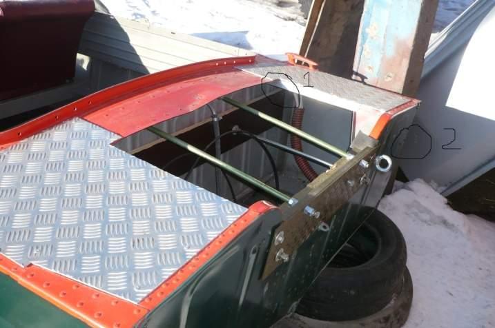 как регулировать положение плм на пвх лодке