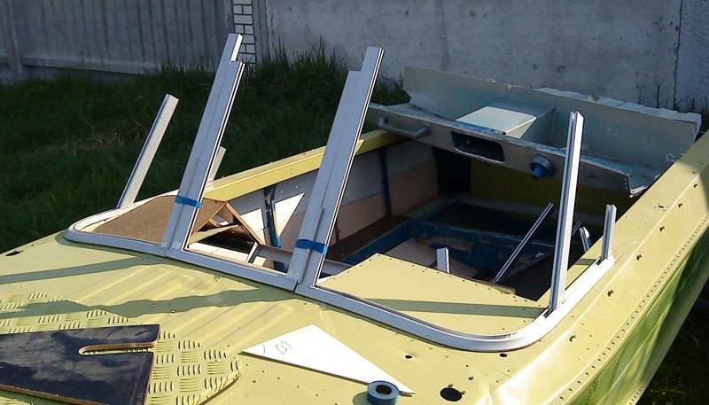 Изготовления стекол для лодок казань