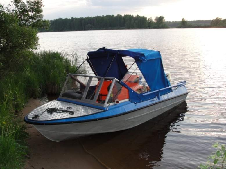 моторная лодка крым м фото