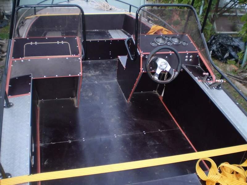 консоль для лодки днепр своими руками
