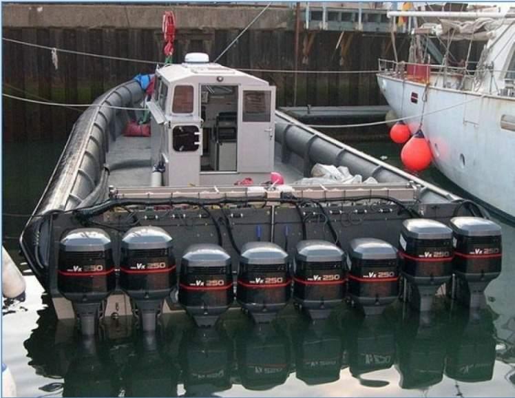 как делают моторные лодки