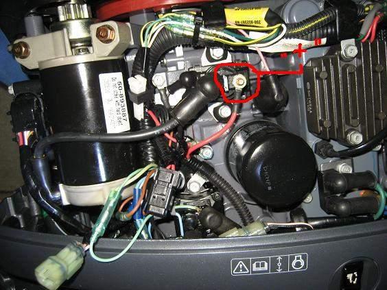 Виды дистанционного управления лодочным мотором