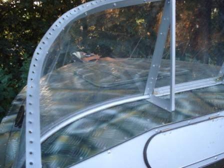 Изготовление лобового стекла на лодку своими руками 85