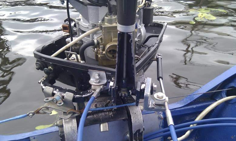 дистанционное управление лодочным мотором в новосибирске