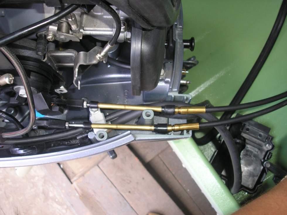 трос рулевого управления к лодочному мотору ямаха