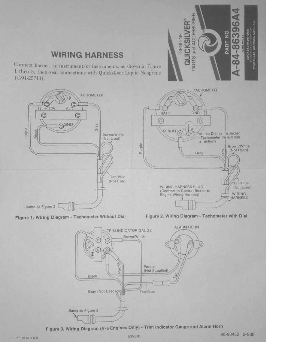 схема мотора меркури 90