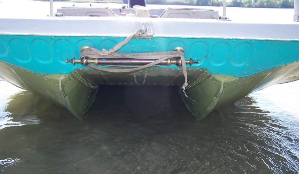 делаем лодку для мелководья