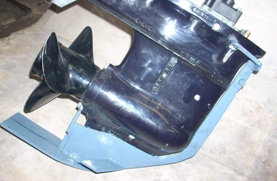 крыло защита на лодочный мотор