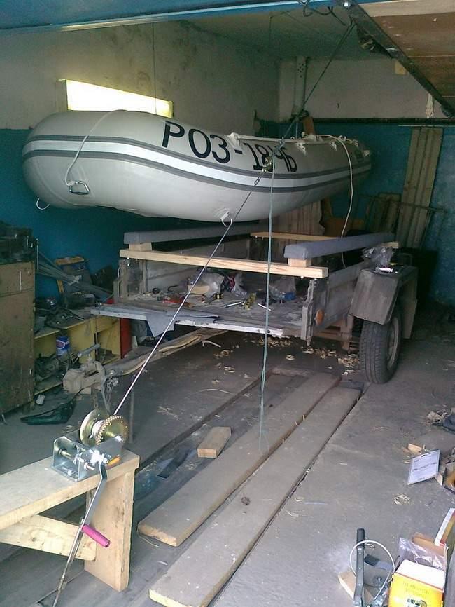 транспортировка лодок