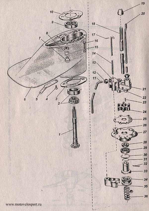 редуктор ветерок 8 устройство