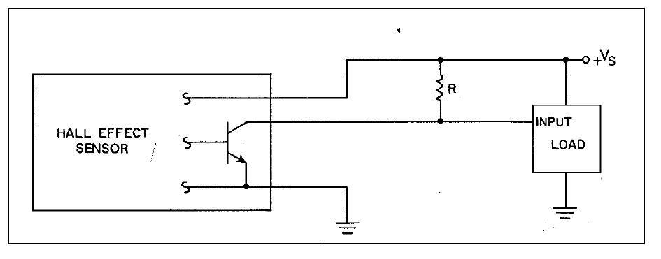 Датчик холла изображение на схеме