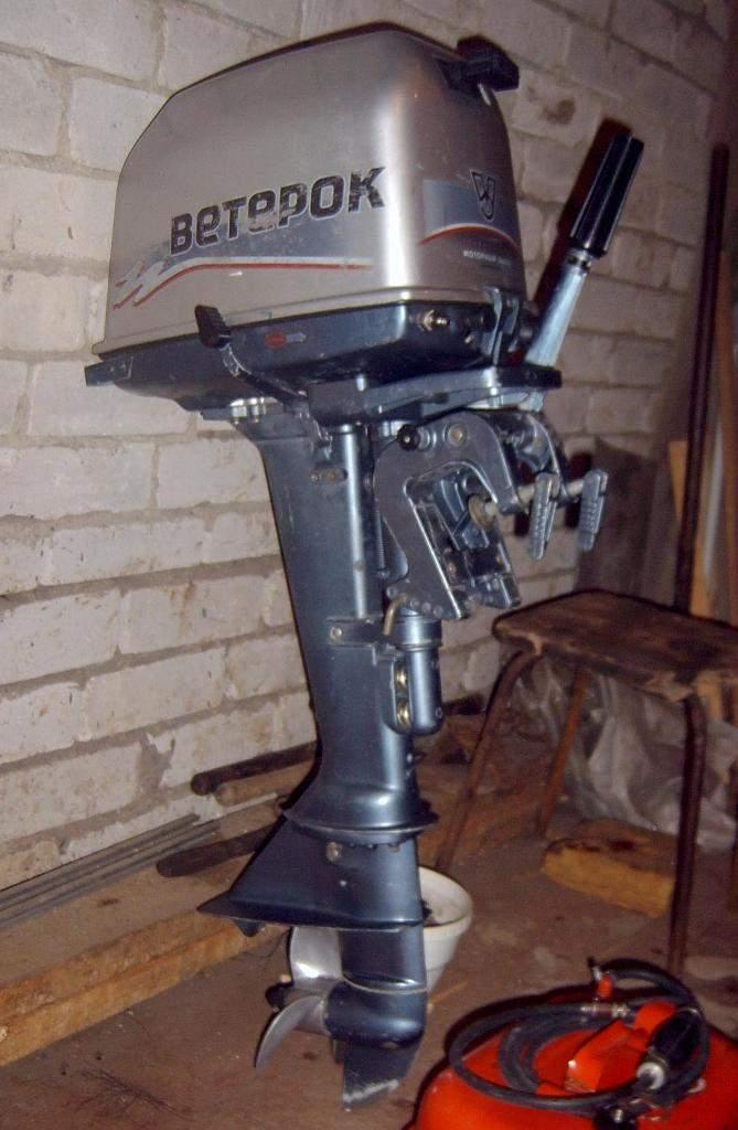 эксплуатация лодочного мотора ветерок 8