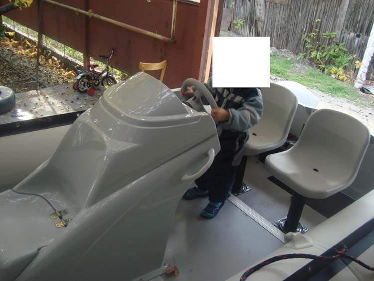 сиденья рулевые консоли для лодок