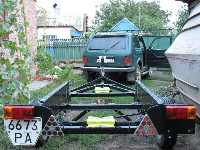 прицеп для грузов и лодки