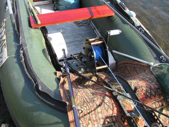 мотоболотоход для лодки