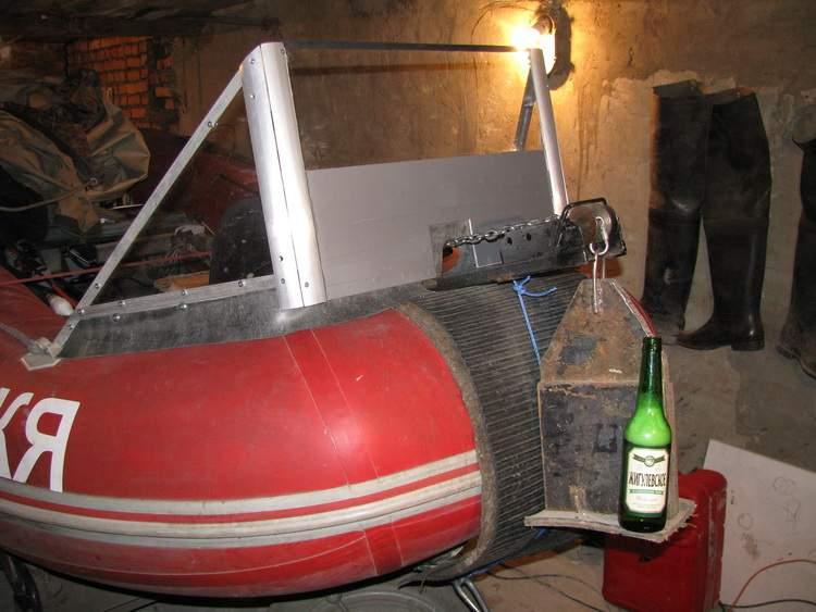 электро якорь на лодку пвх