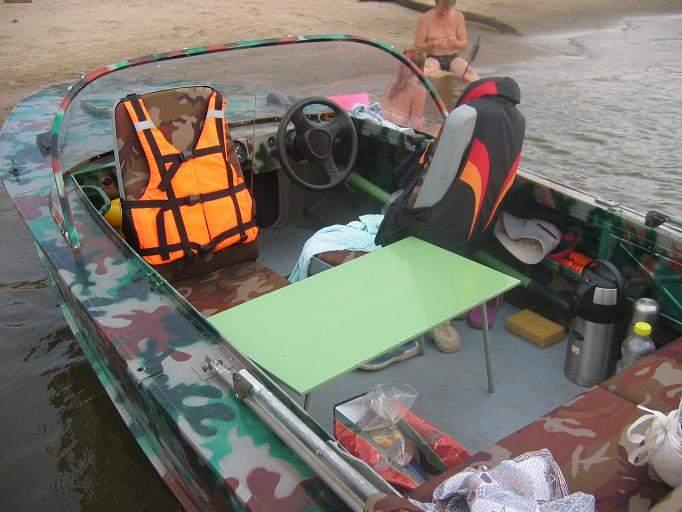 бак на лодку днепр