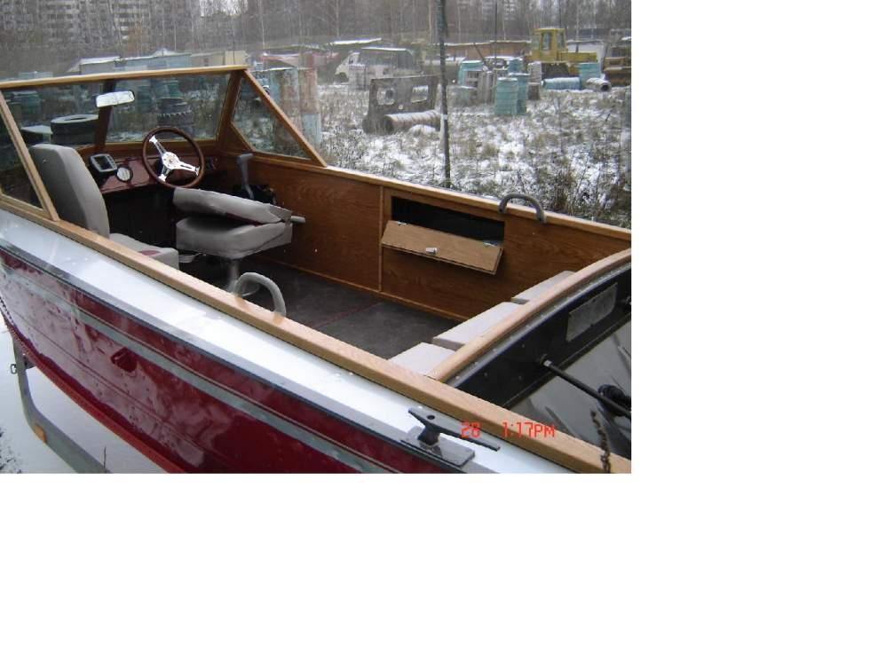 материалы для внутренней отделки лодок