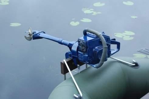Как сделать мотор для лодок из бензопилы