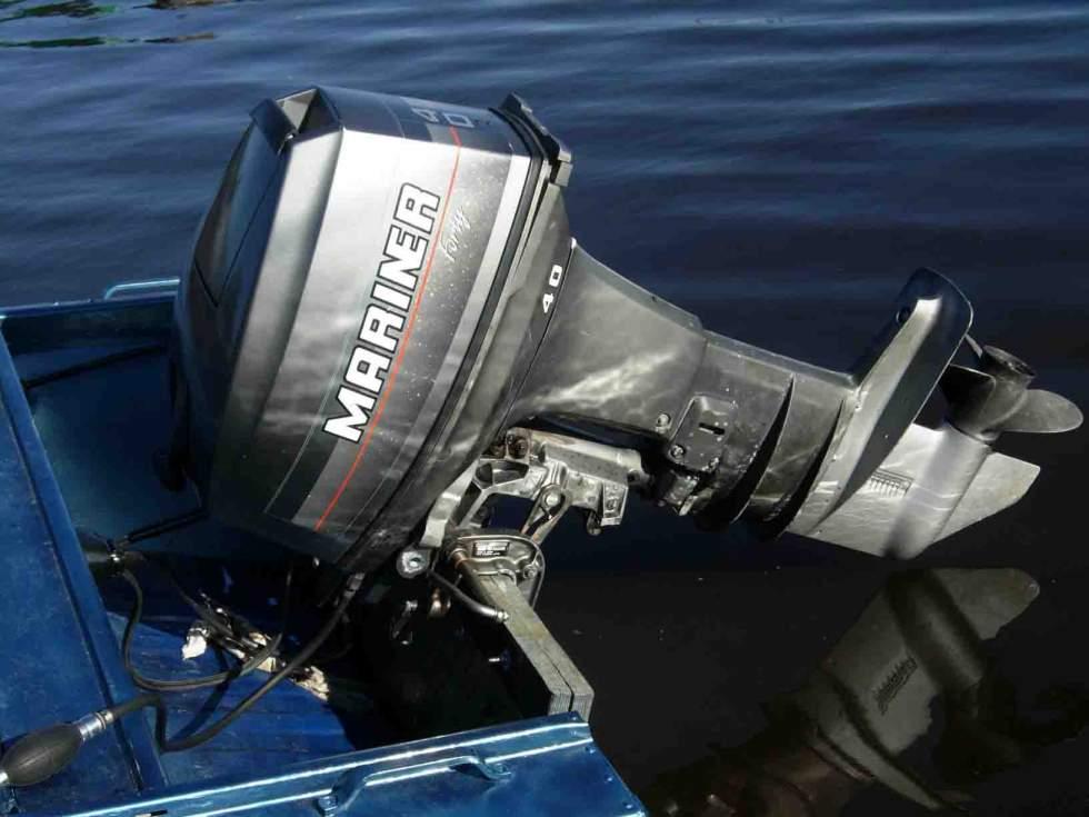 Зажигание на лодочный мотор маринер