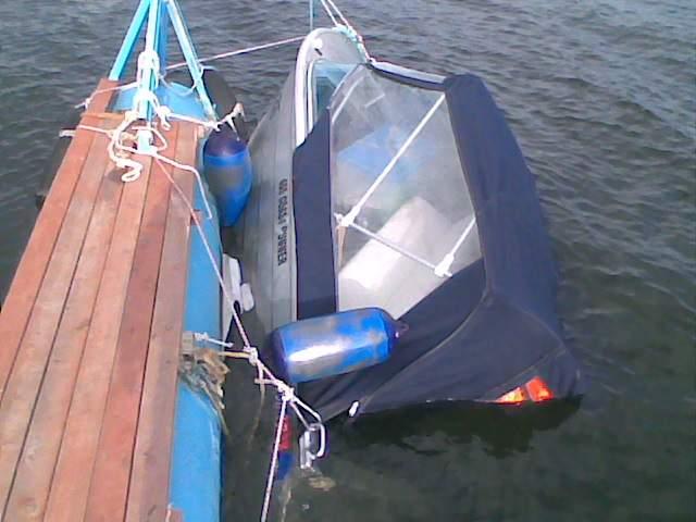 Блоки плавучести для лодки