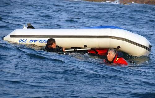 лодка пвх 350 и мотор 9.8 видео