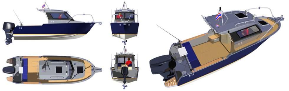 катера и яхты проект лодки