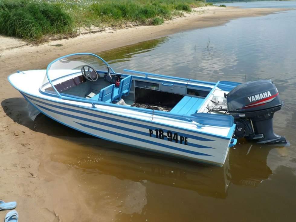 ремонт лодки южанка видео