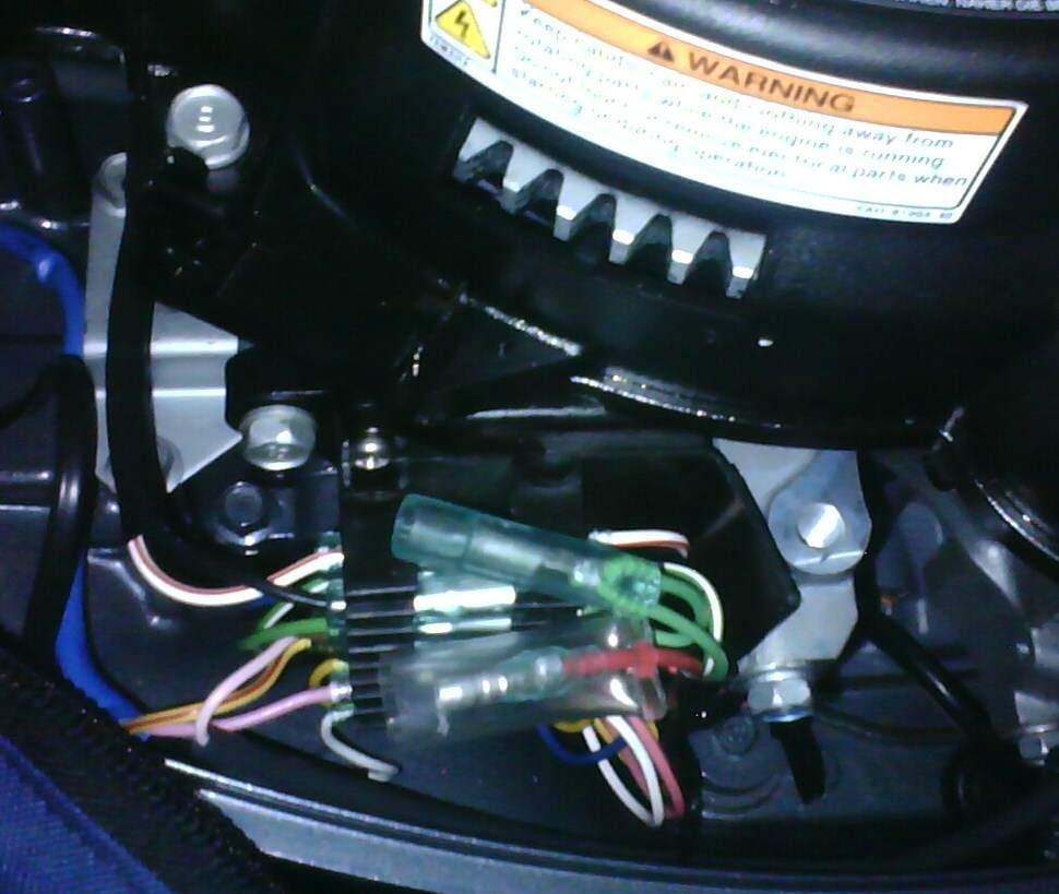 стабилизатор лодочного мотора ямаха