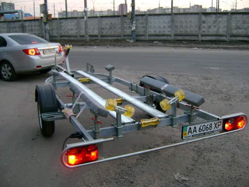 модернизация прицеп для лодки