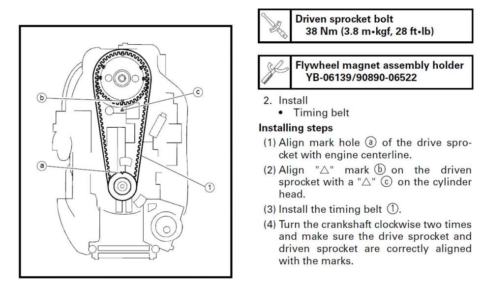 ремень грм лодочный мотор ямаха видео