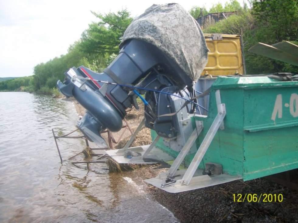 самодельные водометы для лодки