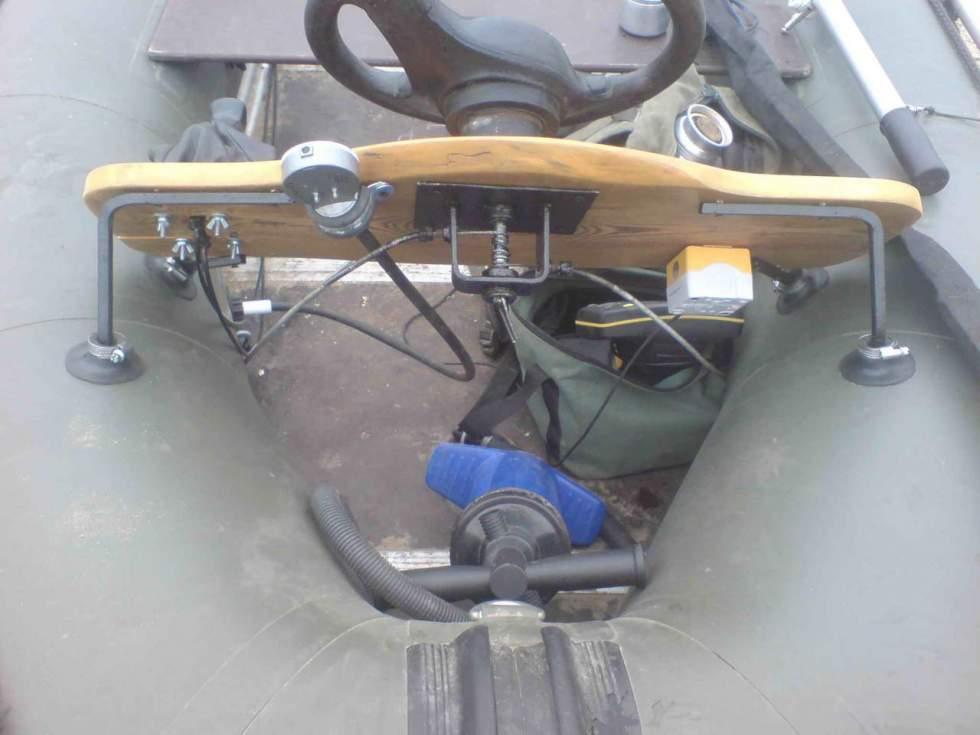 мотор с дистанцией на лодку пвх