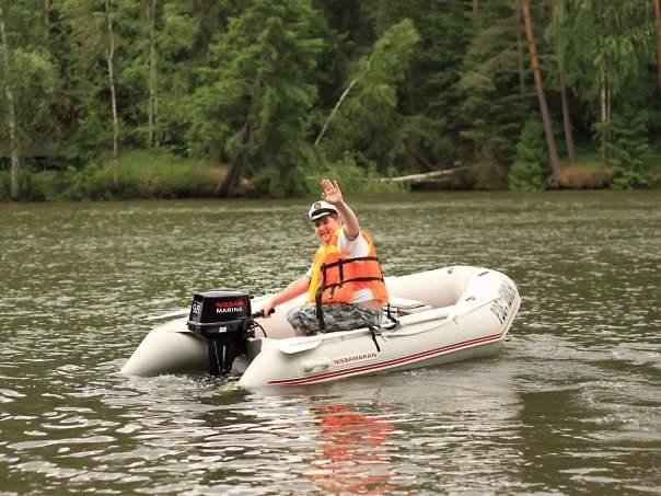 сборка лодки ниссамаран 320 видео