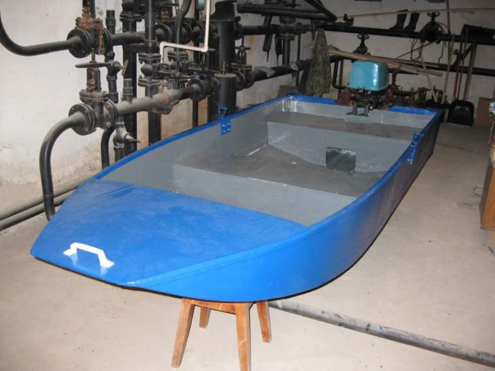 фото самодельных лодок из фанеры