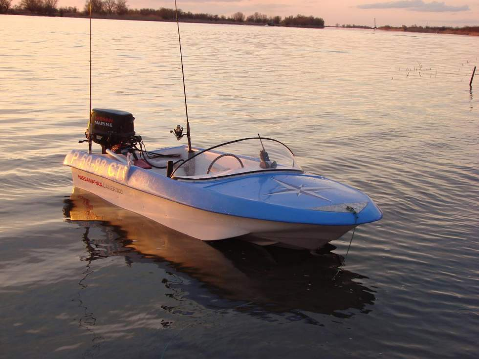 лодка ниссамаран продажа