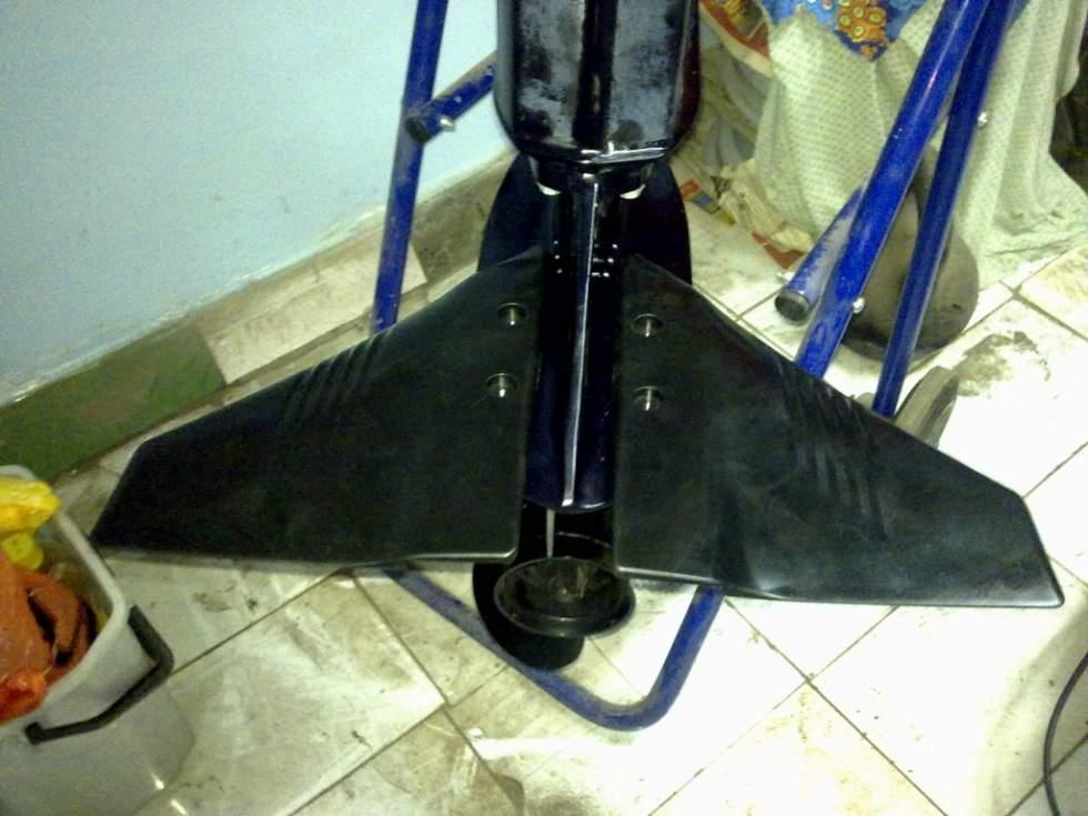 Гидрокрыло на лодочный мотор 3.5