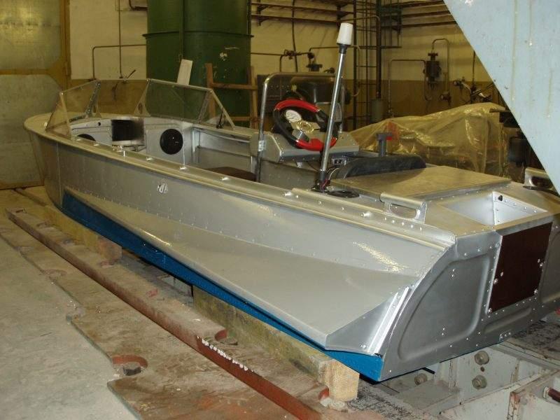 Ремонт и покраска лодки казанка своими руками 17