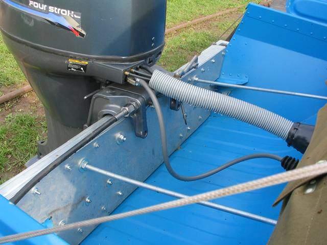 как укрепить транец на лодке казанка