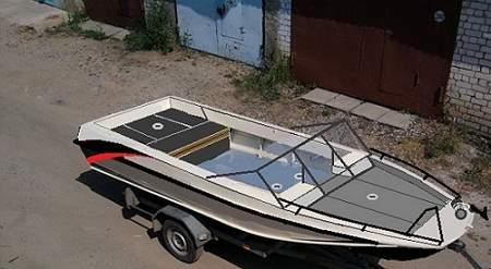 Тюнинг лодки пвх своими руками видео