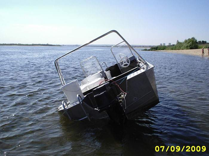 рецесс на лодку прогресс-2