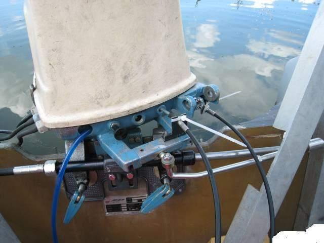 как это работает лодочный мотор