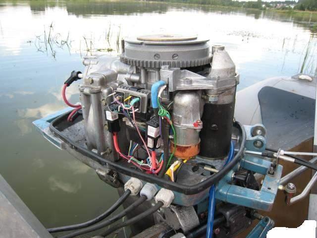 доработка лодочного мотора вихрь-30