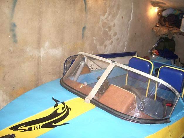как загнуть оргстекло для лодки