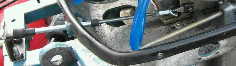 Троса газ реверс своими руками 40