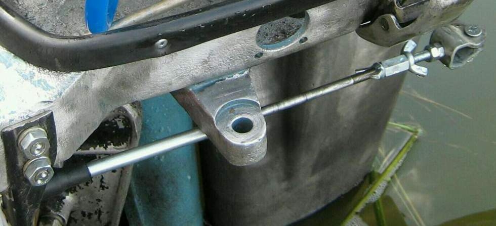 Троса газ реверс своими руками 11