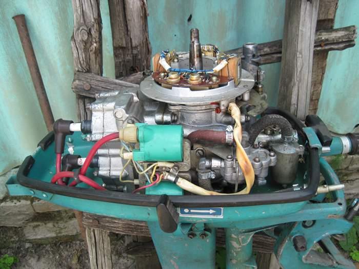 Самодельное зажигание на лодочный мотор 178