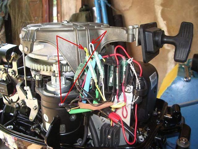 рабочая температура лодочного мотора тохатсу