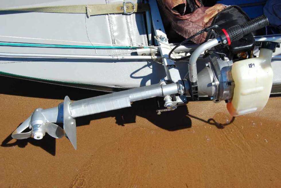 угловой редуктор для лодки